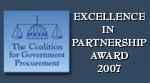 Excellence In Partnership Award 2007