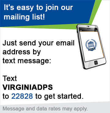 It's easy to join our mailing list!