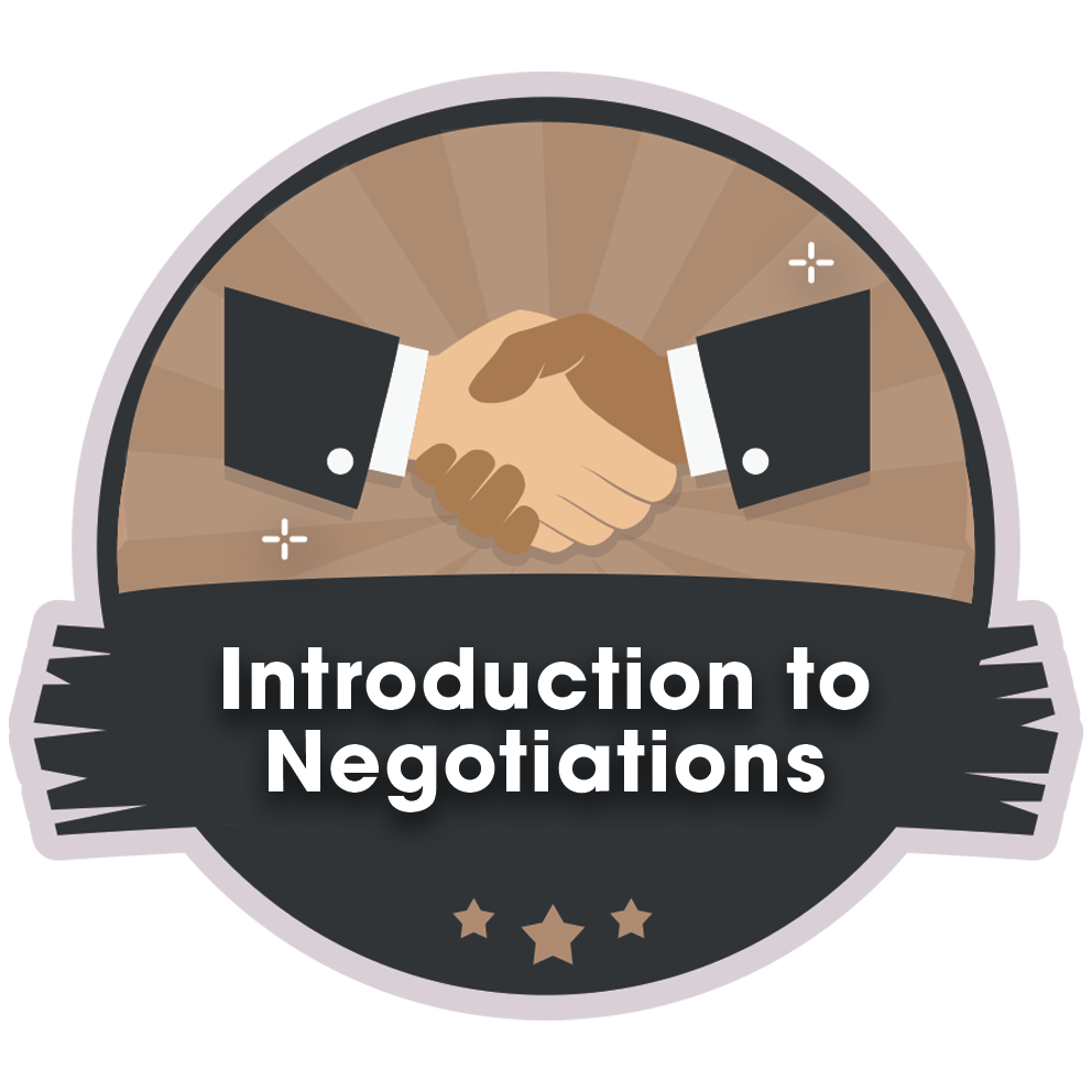 Introduction to Negotiations