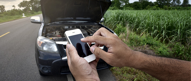 Fleet Car Assistance Smartphone