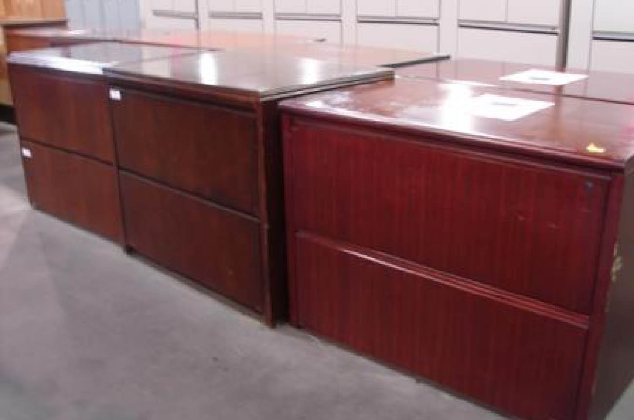 2-Drawer Lateral Wood Filling Cabinets