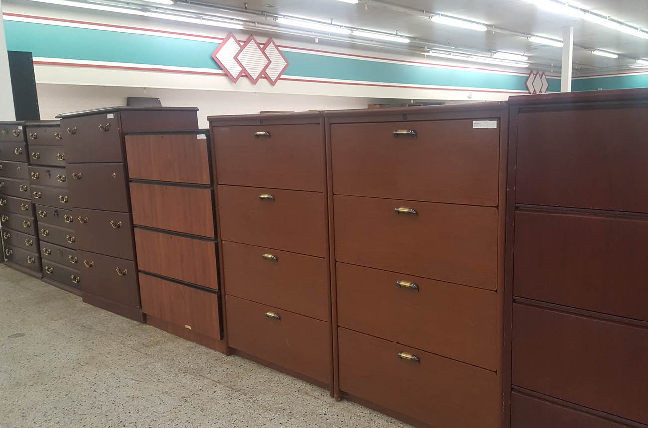 4-Drawer Wood Lateral File Cabinets